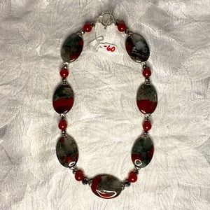 Handcrafted Fancy Agate Necklace